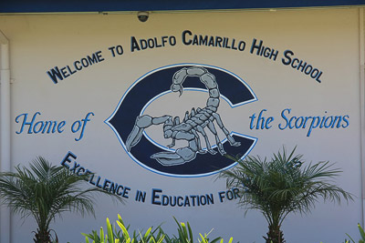Welcome to Adolfo Camarillo High School. Home of the Scorpions.