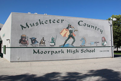 Moorpark High School - Musketeer Country