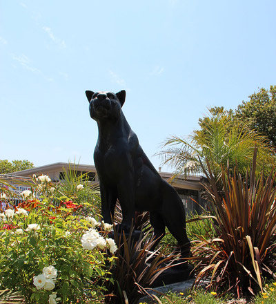 Panther Statue from Newbury Park High School