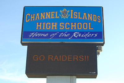 CSU Channel Islands High School - Home of the Raiders